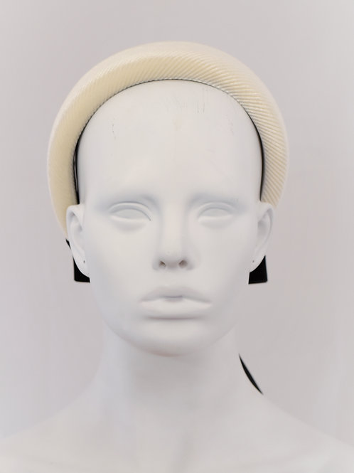 Lucinda Headband-Ivory