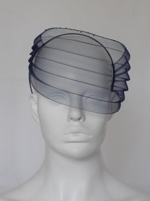 Side swipe veil