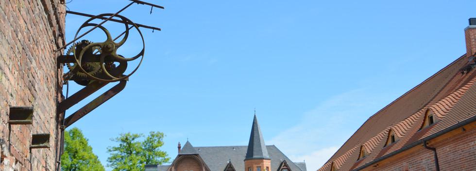 Blick auf Gutshaus Schlossgut