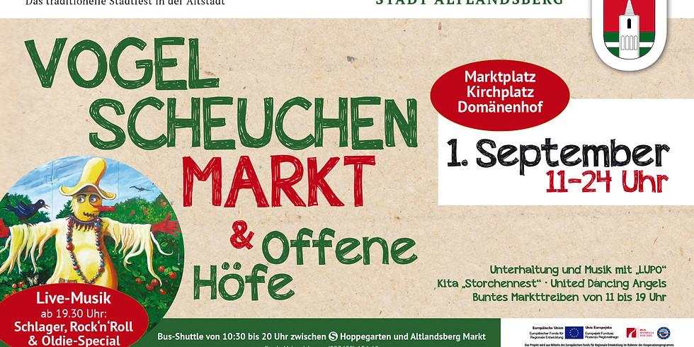Vogelscheuchenmarkt und offene Höfe (Altlandsberg)