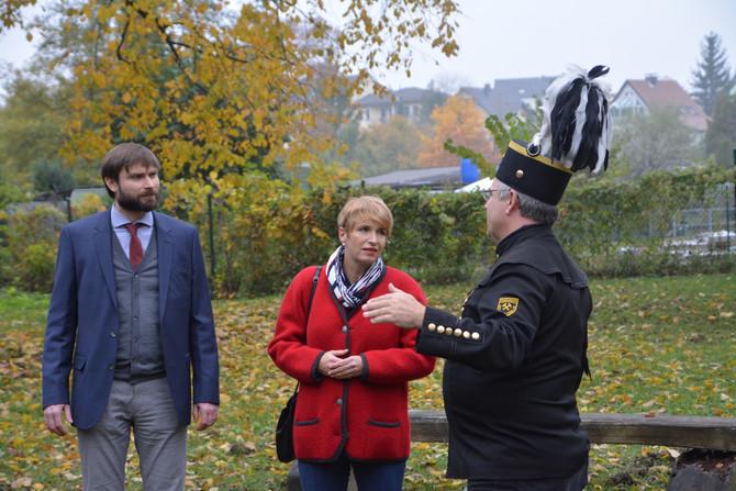 Kultusministerin Brandenburgs zu Besuch