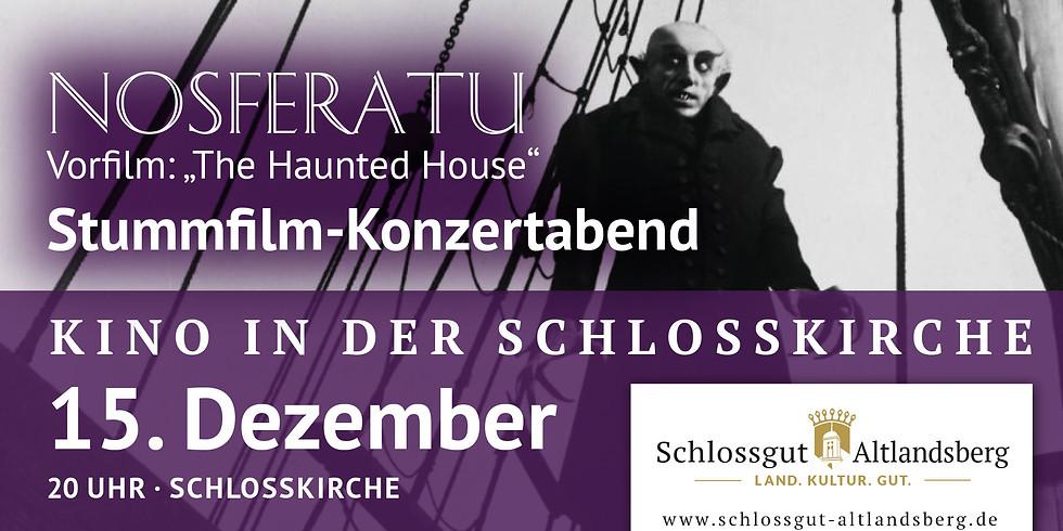 Stummfilm-Konzertabend: Nosferatu - eine Symphonie des Grauens