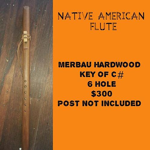 Native American Flute (C#) Hardwood