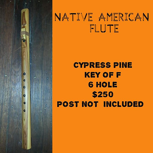 Native American Flute Cypress Pine (F)