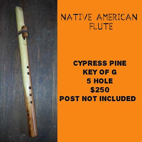 Native American Flute Cypress Pine (G)