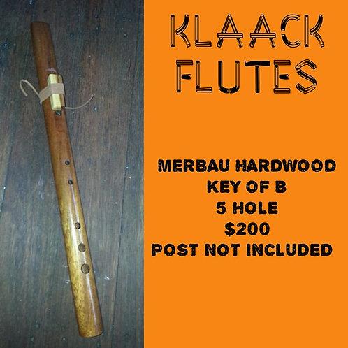 Native American Flute Merabu hardwood(B)