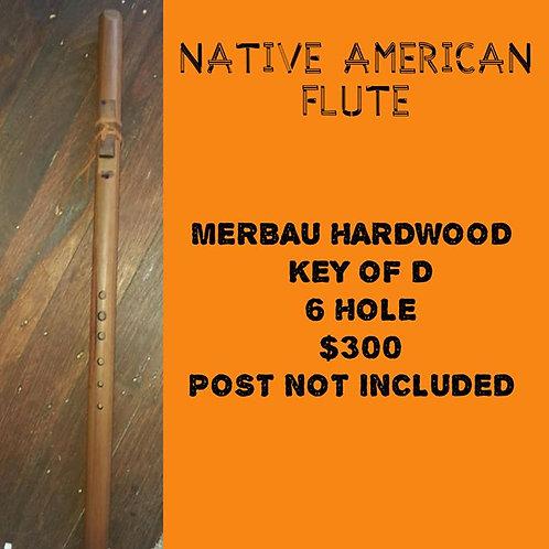 Native American Flute Merabu Hardwood (D)
