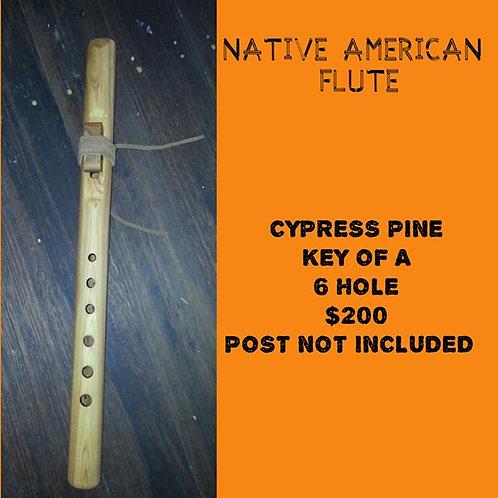 Native American Flute Cypress Pine (A)