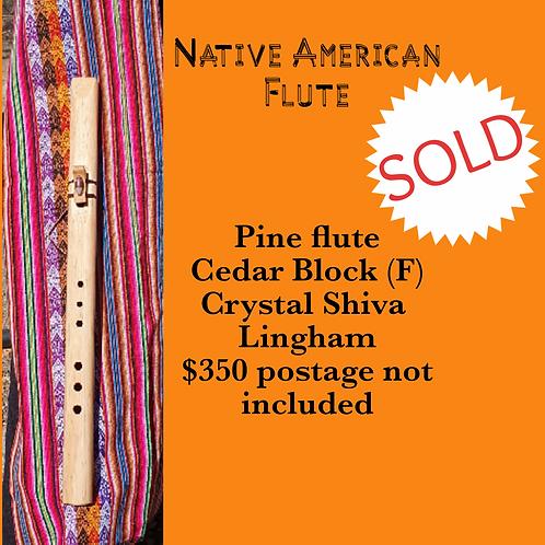 Native American Flute  Pine Cedar block