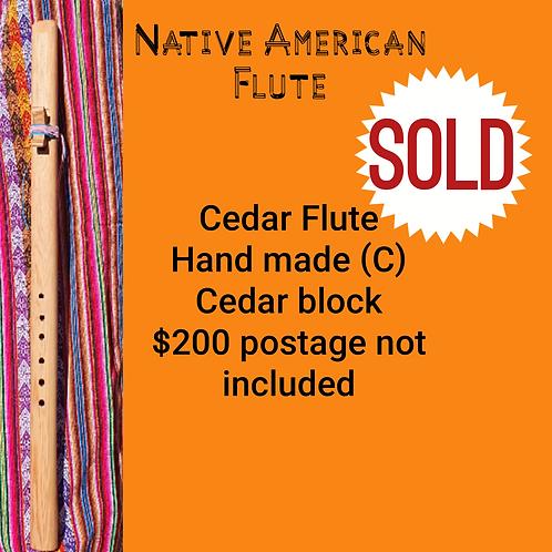 Native American Flute Cedar Flute