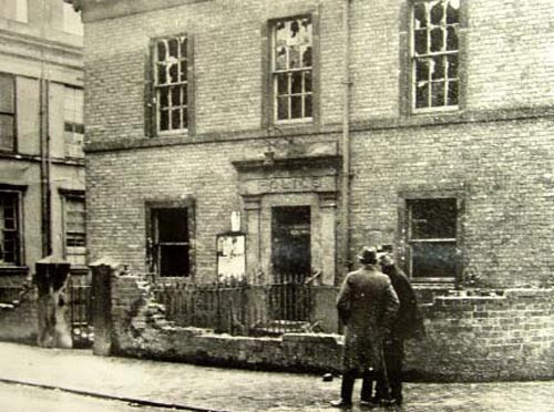 Bilston Police Station following the 1919 riot