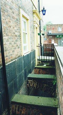 Bilston Police Station's moat