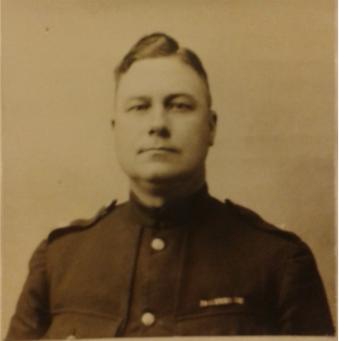 Remembering a hero - #WMPTreasure Commandant Ernest Drake