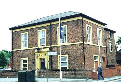 Bilston Police Station prior to its 2011 closure