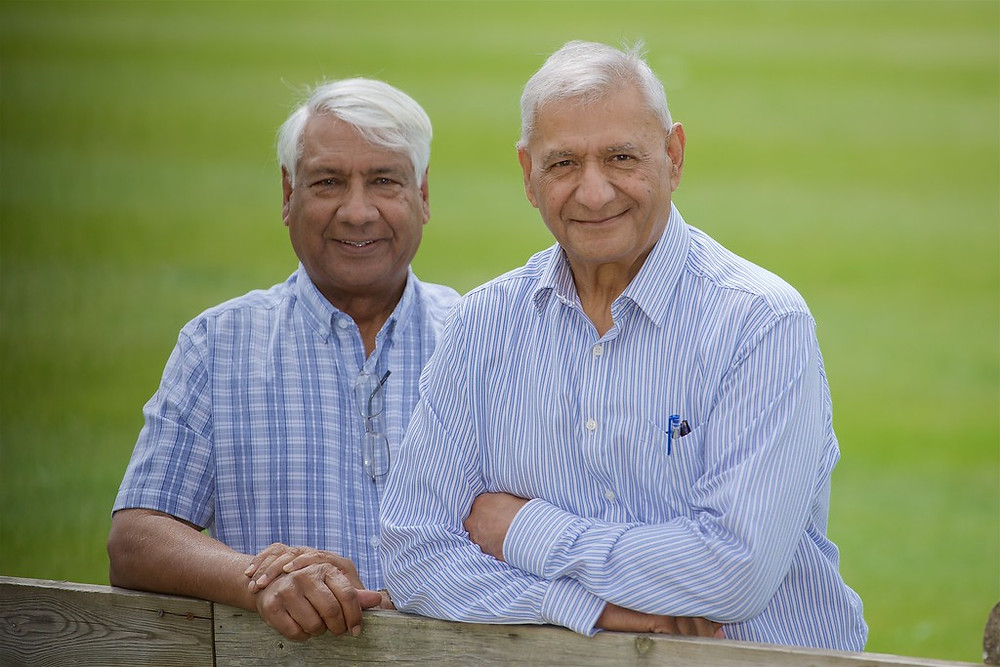 Yunus (left) and Joe (right)
