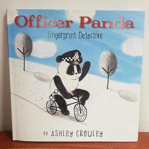 Officer panda - fingerprint detective