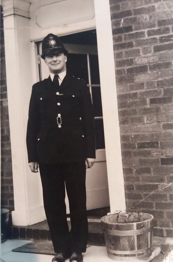 Retired officer John Downing