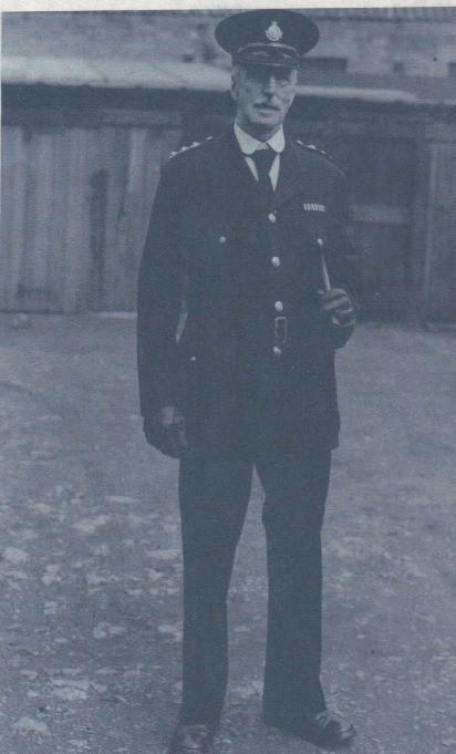Commander Owen Parkes