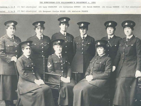 100 years of female police officers - celebrating the early pioneers