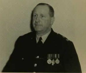 PC Frank Davies in 1956