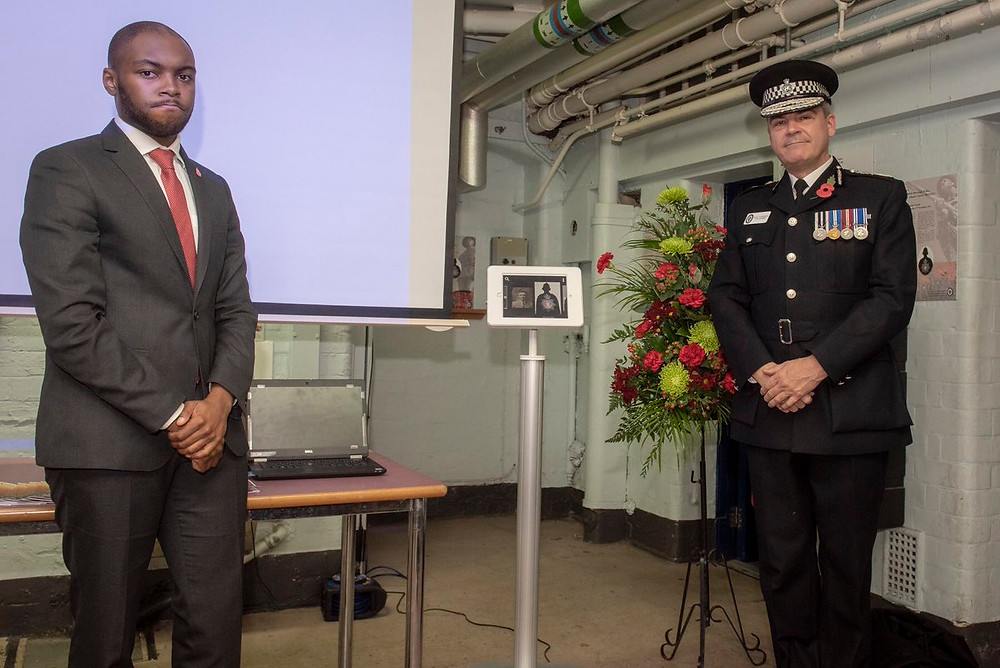 Assistant Police and Crime Commissioner Ashley Bertie and Chief Constable Dave Thompson