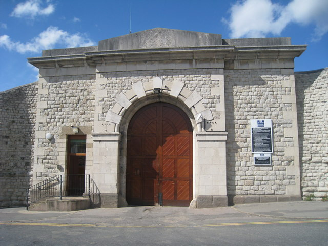 Entrance to Maidstone Prison