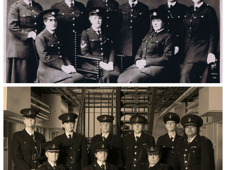 Then and now - 100 years of policewomen in the West Midlands