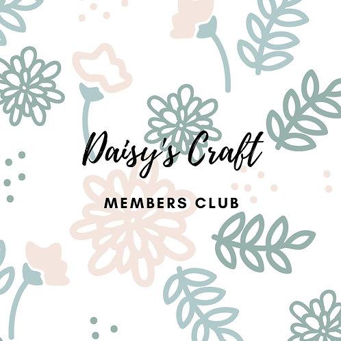 Daisy's Craft Members Club