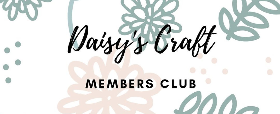 Daisy's Craft Members Club