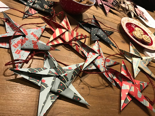 Origami Star Garland Workshop