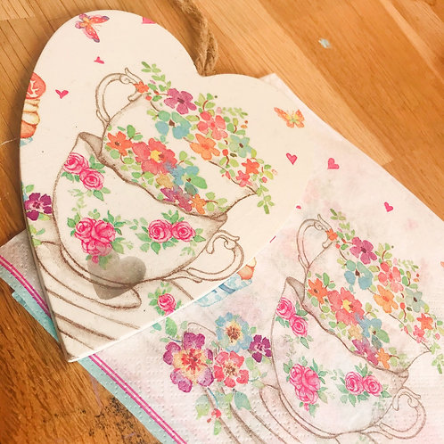 Decoupage Coasters Workshop