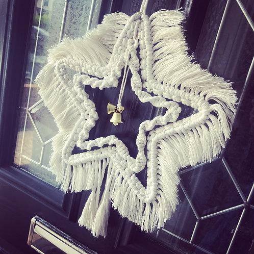 Macrame Star Wreath Workshop