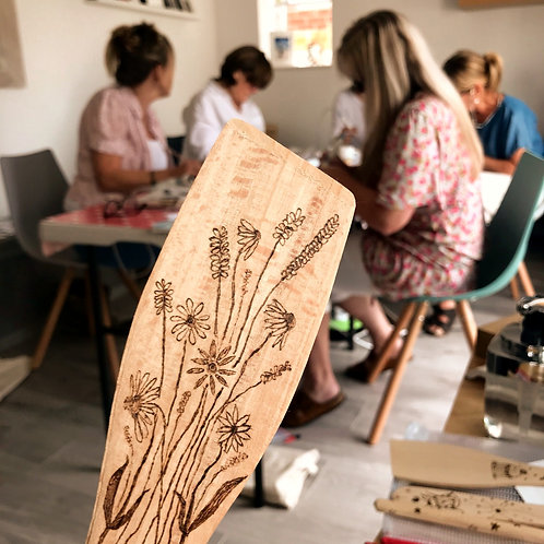 Beginners Pyrography Workshop