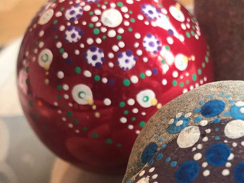 Mandala Christmas Baubles Workshop