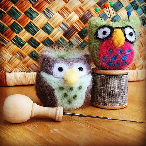Needle Felt Owl Workshop