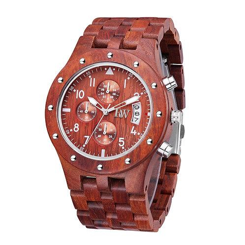 Blaze II rosewood watch