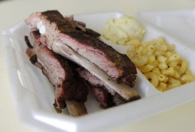 Badd Newz BBQ Rib Plate