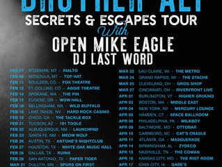 Brother Ali Secrets & Escapes Tour with Open Mike Eagle and DJ Last Word!
