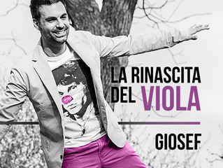 La Rinascita Del Viola, nuovo disco del cantautore torinese Giosef.