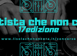 "2020 edition of the competition ""L'artista Che Non C'era"""