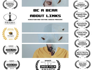 """""""About Links (feat. Grigio)"""" by Be a Bear, wins the 'best editing' award at the &q"""