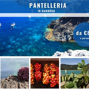 Pantelleria in Dammuso con volo incluso