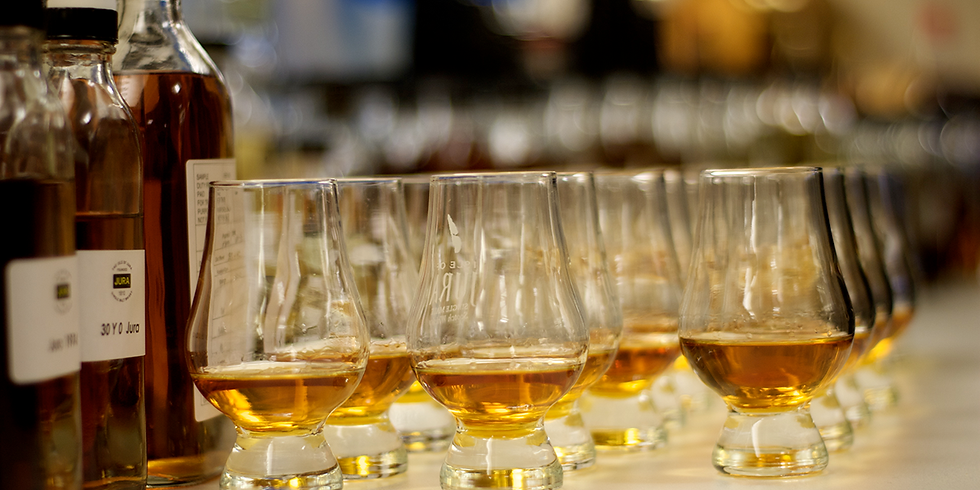 Scotch and Whisky Tasting (Sold Out)