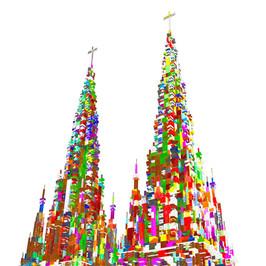 Cathedral Glitch #1.2021