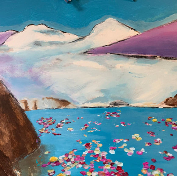 Landscape (Rosepetals), 2021