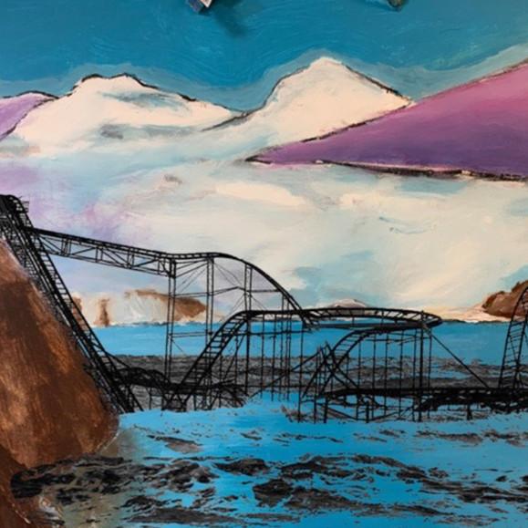 Landscape (Rollercoaster), 2021