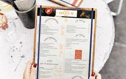 DISEÑO GRÁFICO || Diseño de imagen corporativa // Divinum Restaurante