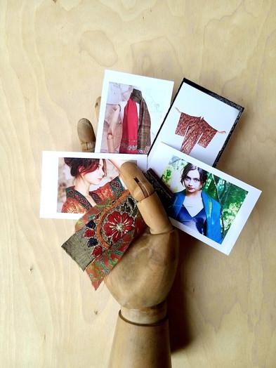 Unique, individually handmade kimonos and scarves