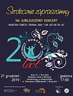 Koncert Jubileuszowy Buńczuk