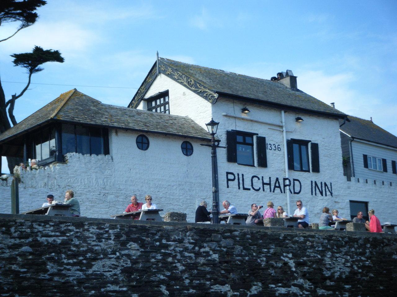 The Pilchard Inn on Burgh Island
